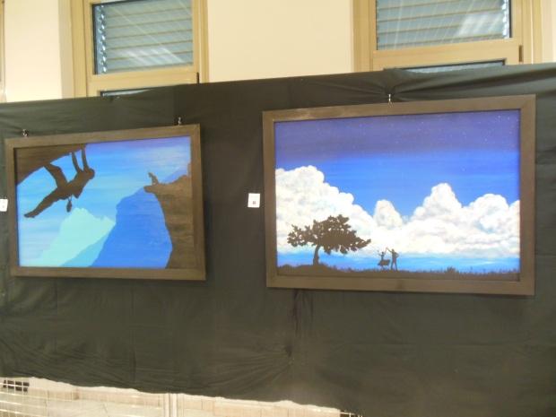 Black Shadows Fabrizio Gavatorta cuneo savigliano provincia pittura quadri opere ombre  (3)